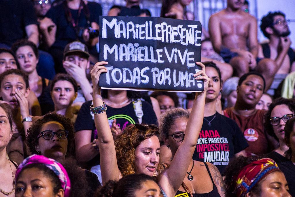 Marielle Presente, Marielle Vive, Todas Por Uma